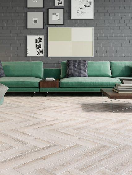 Podłoga ułożona w jodełkę – kreatywne ułożenie paneli podłogowych