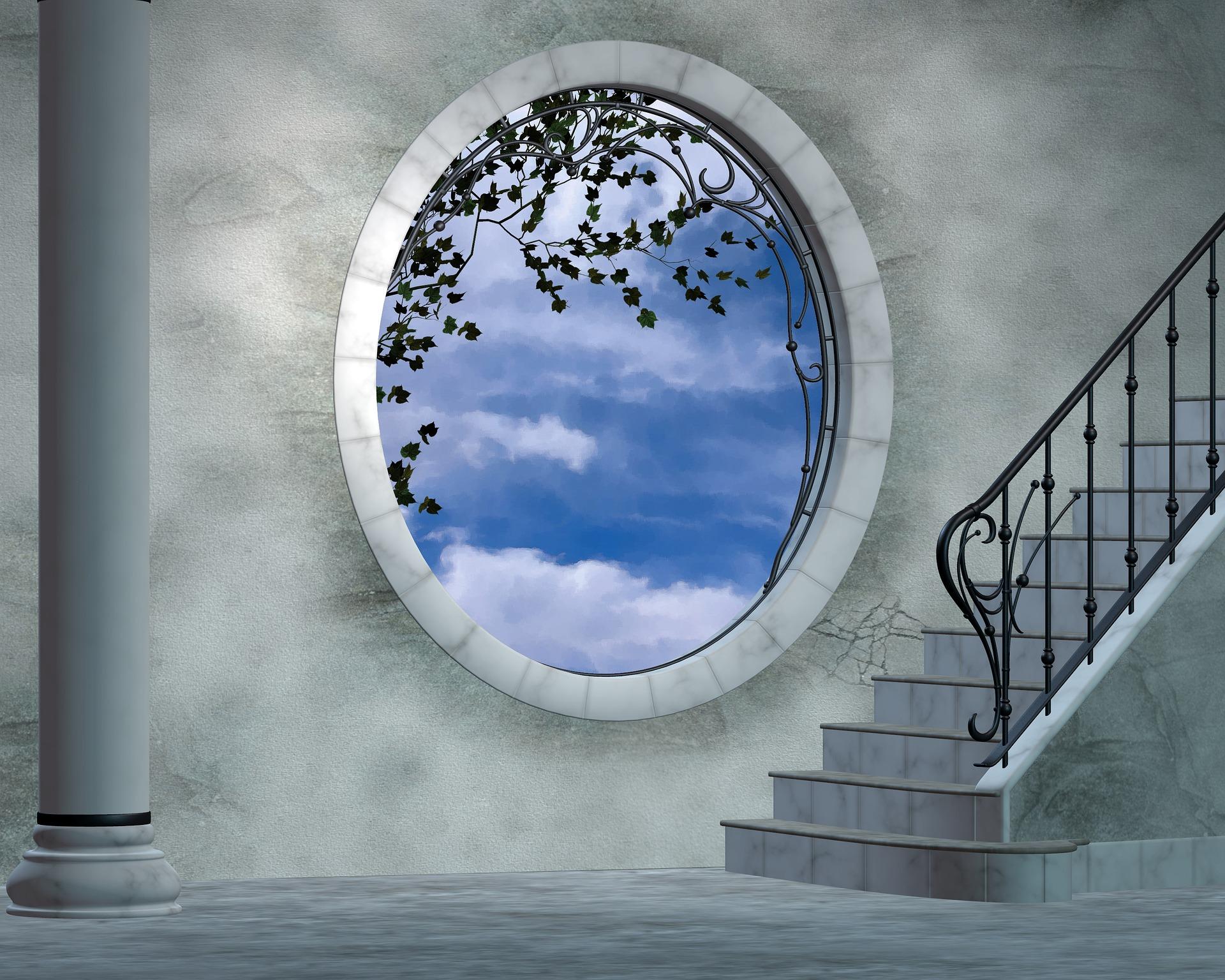 Okna okrągłe w domu