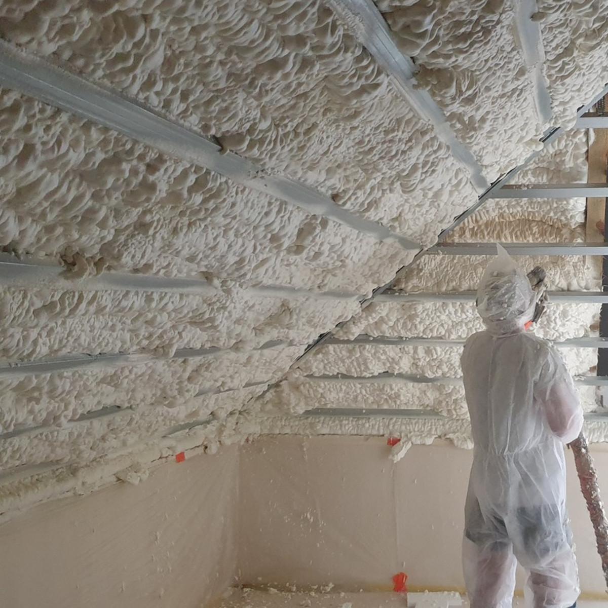 Pianka poliuretanowa jest lepszym sposobem na ocieplenie budynków