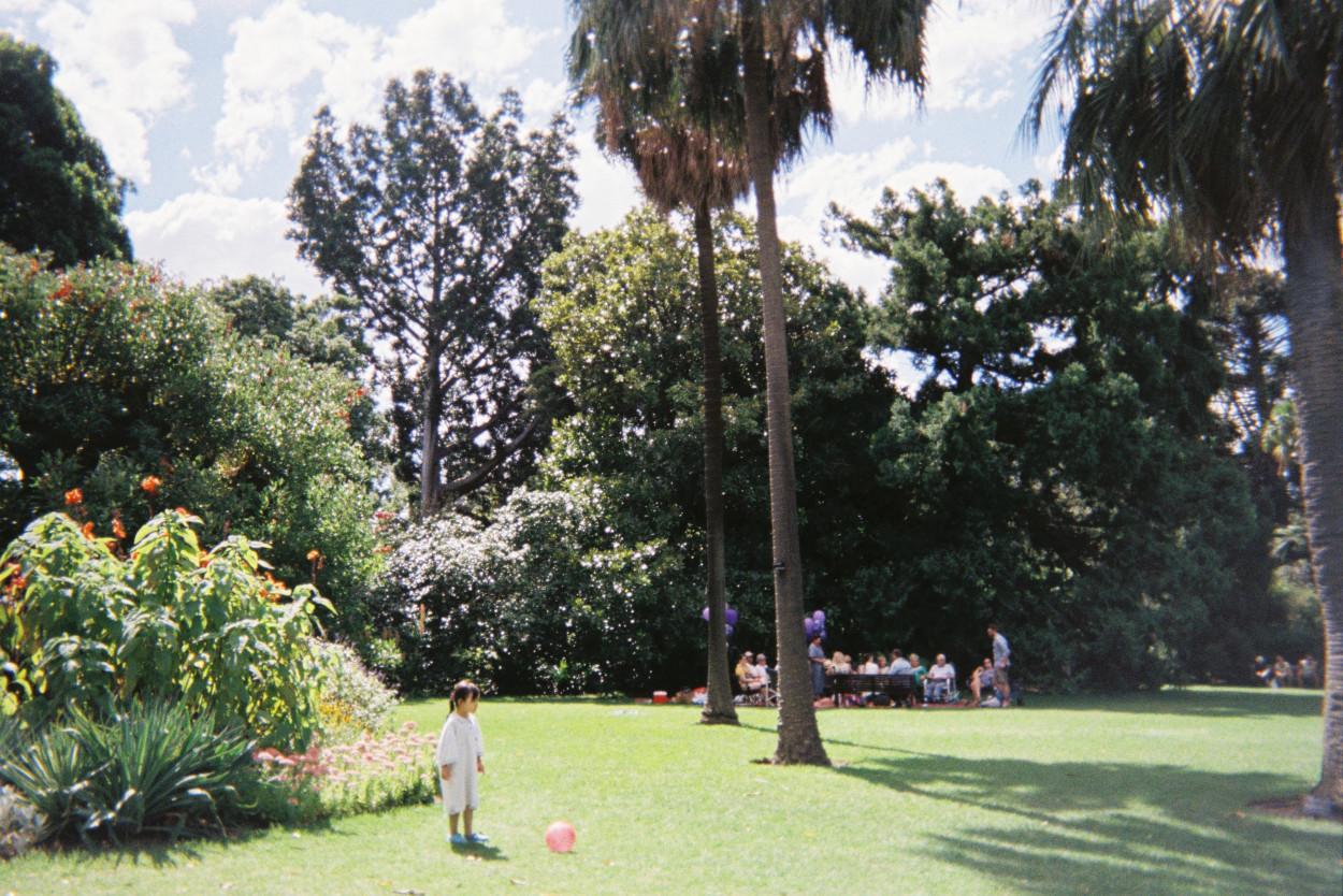 Przestrzeń dla dzieci w ogrodzie.