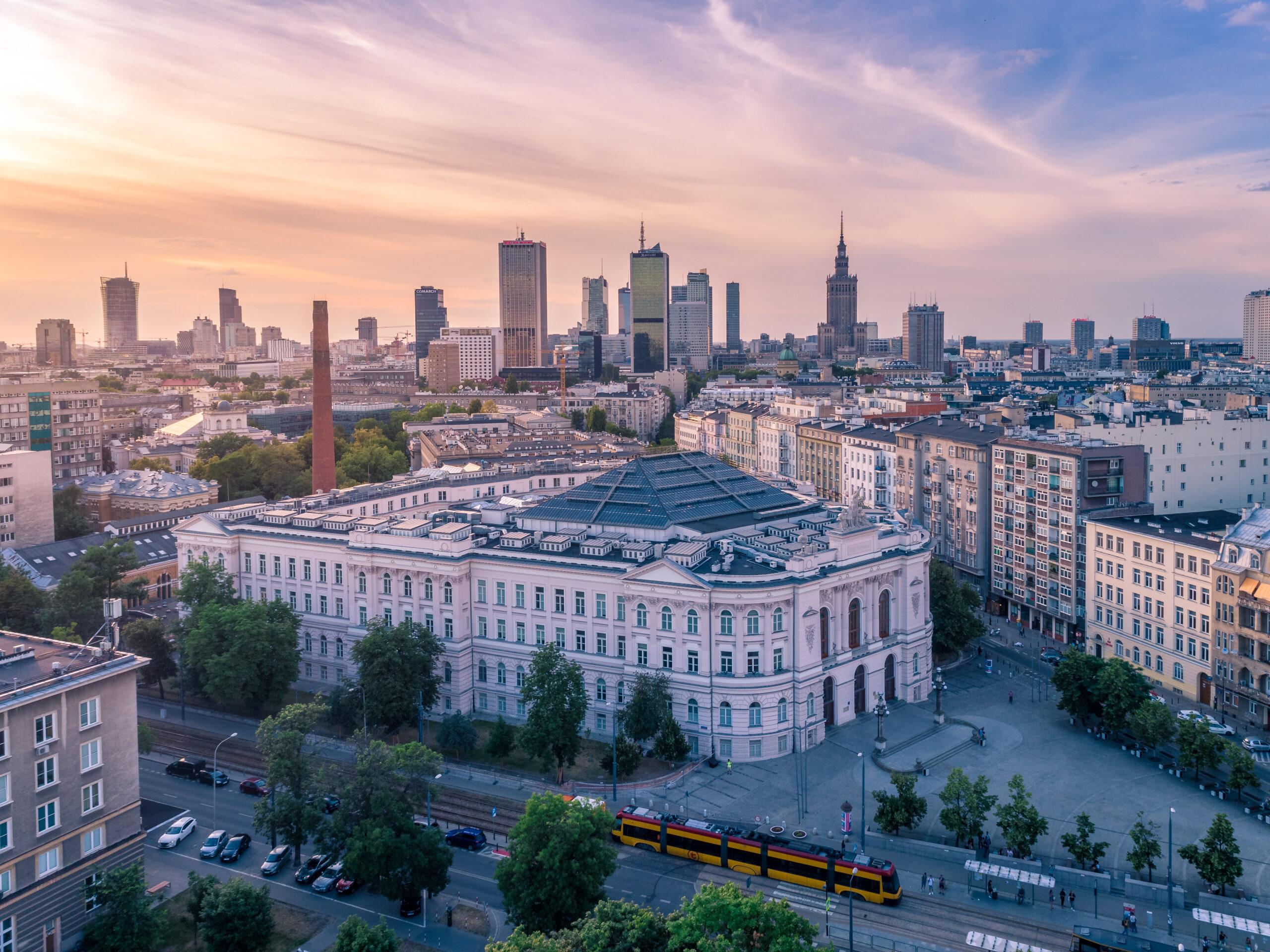 Dzielnica Ursynów w Warszawie