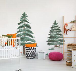 Naklejki ścienne – nowoczesna dekoracja do pokoju dziecięcego