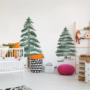 Naklejki ścienne - nowoczesna dekoracja do pokoju dziecięcego