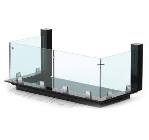 Balustrady szklane q-railing – co warto o nich wiedzieć?