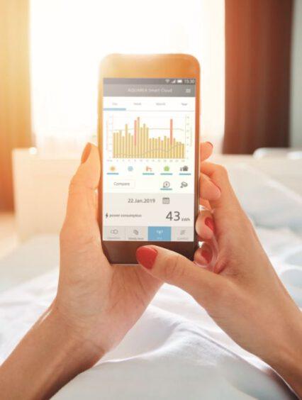 Mobilne sterowanie pompą ciepła – Panasonic Smart Cloud